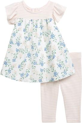Nordstrom Garden Dress & Leggings Set