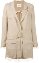 Nanushka - belted safari jacket - women - Polyester/Triacetate - S