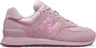 New Balance 574 Mystic Crystal Leather Sneaker