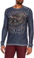 Affliction Graphic Long Sleeve Thermal