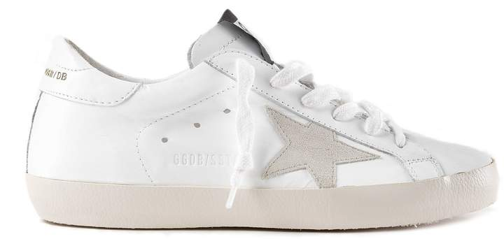 Golden Goose Superstar Letter Sneakers