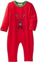 Beetle & Thread Reindeer Dog Romper (Baby Boys)