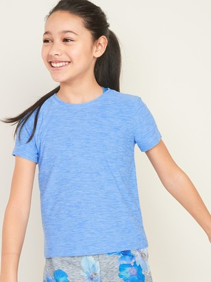 Old Navy Ultra-Soft Breathe ON Go-Dry Keyhole-Back Tee for Girls