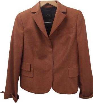 Akris Orange Cashmere Jackets