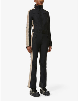 Goldbergh Elizabeth funnel-neck stretch-woven jumpsuit