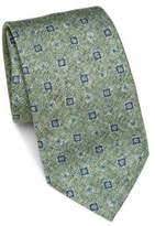 Saks Fifth Avenue COLLECTION Medallion Silk Tie