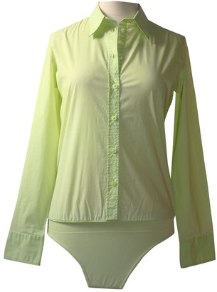 Calvin Klein Green Cotton Top for Women