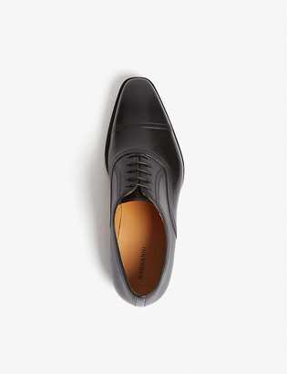 Magnanni Domino punch TC leather Oxford shoes