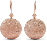 Carolina Bucci Mirador 18-karat Rose Gold Earrings - one size