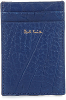 Paul Smith Grained-leather cardholder