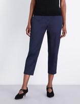 Jil Sander Tommy cropped stretch-cotton trousers