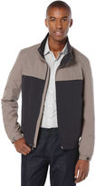 Perry Ellis Lightweight Color Block Jacket