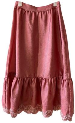 Stine Goya Pink Synthetic Skirts