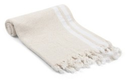 Olive and Linen Pamuk Natural Turkish Hand/Kitchen Towel Bedding