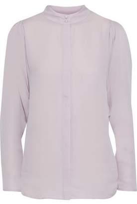 Joie Rashelda Silk Crepe De Chine Shirt