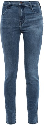 J Brand Moral Faded High-rise Skinny Jeans