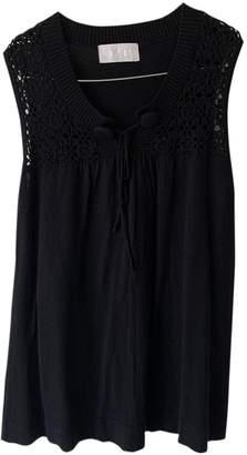 Bruuns Bazaar Black Cotton Top for Women