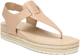 Vince Flint Softy Leather Thong Sandals