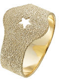 Carolina Bucci Superstellar Sparky 18kt Yellow Gold Ring