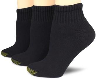 Gold Toe Women's 3 Pack Ultratec Quarter Socks