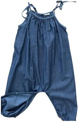 Fendi Blue Cotton Dresses