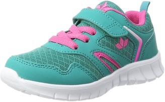Brütting Lico Girls Skip Vs Low-Top Sneakers Turquoise (Tuerkis/Pink Tuerkis/Pink) 41 EU