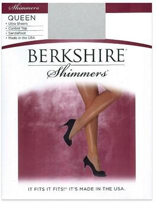 Berkshire Queen Shimmers Control Top Pantyhose