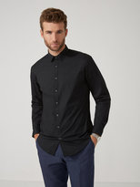 Frank + Oak The Andover Stretch Dress Shirt in Black