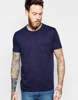 Ymc T-shirt With Pocket In Navy