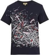 Burberry Doodle-print cotton T-shirt