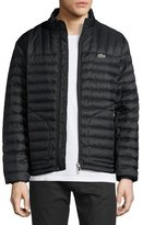 Lacoste Lightweight Quilted Down Jacket, Black