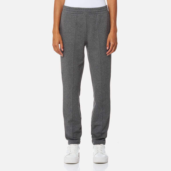 Alexander Wang Women's Dry French Terry Pull On Leggings Heather Grey