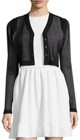 Narciso Rodriguez Block Grid Cardigan
