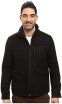 Nautica Wool Melton Zip Front Jacket