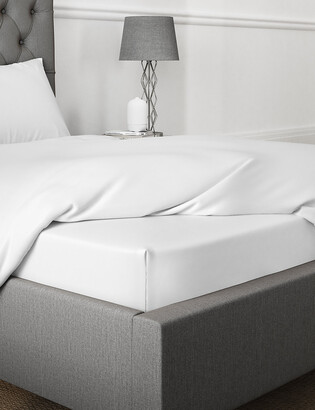 Marks and Spencer Egyptian Cotton 400 Thread Count Deep Fitted Sheet