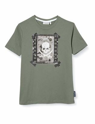 Salt&Pepper Salt & Pepper Boy's Druck Mit Leuchtendem Totenkopf T-Shirt