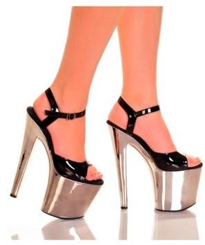 """The Highest Heel Halloween Women's 7 1/2"""" Platform Heel"""