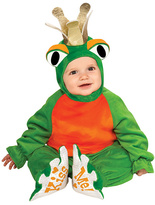 Rubie's Costume Co Frog Prince Green Dress-Up Set - Infant