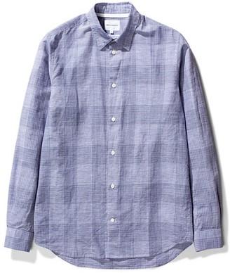 Norse Projects Cotton Linen Hans Check Shirt - s