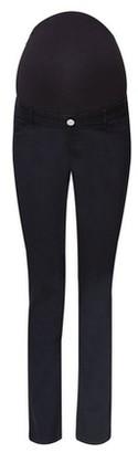 Dorothy Perkins Womens **Maternity Black Over Bump Straight Leg Jeans, Black