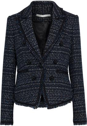 Veronica Beard Cooke Dickey Metallic Tweed Blazer