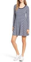 Lush Women's 'Ringer' Stripe Swing Dress