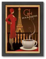 "Bed Bath & Beyond Americanflat ""Café Tour Eiffel"" Digital Print Wall Art"
