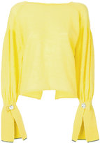 Aviu Giallo knit sweater