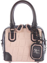 Alice + Olivia Mini Embossed Leather Satchel
