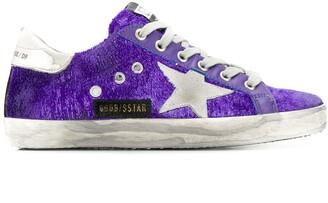 Golden Goose Superstar textured sneakers