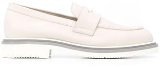 Santoni Low-Heel Slip-On Loafers