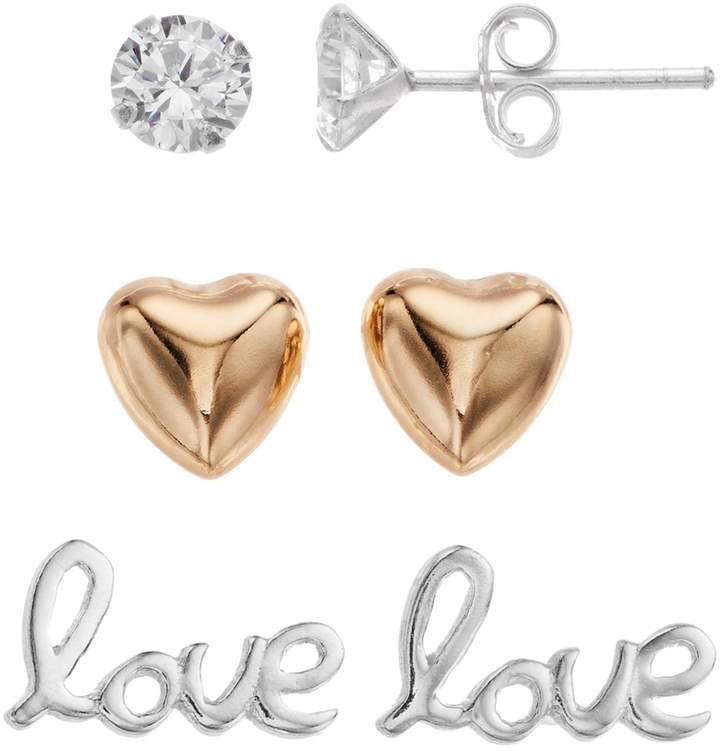 a87c75d92 Love Stud Earring - ShopStyle