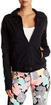 Trina Turk Colorblock Zip-Up Jacket