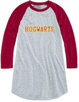Kids Line Girls Long Sleeve Hogwarts Raglan Gown - Big Kid